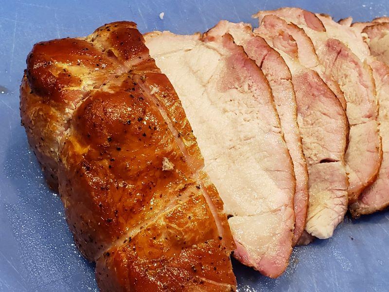 Sliced Pork Sirloin Roast