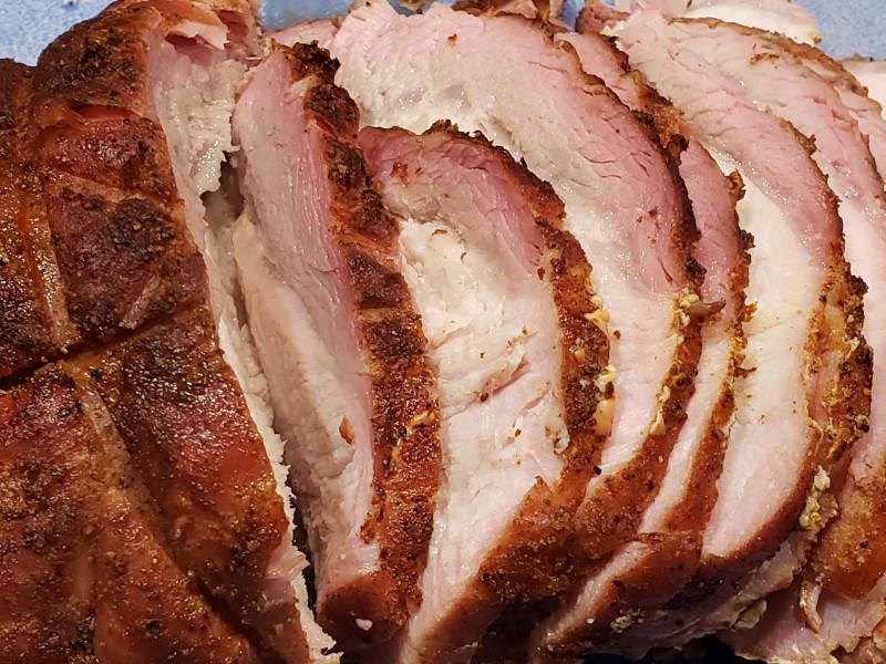 Smoked Sirloin Pork Roast