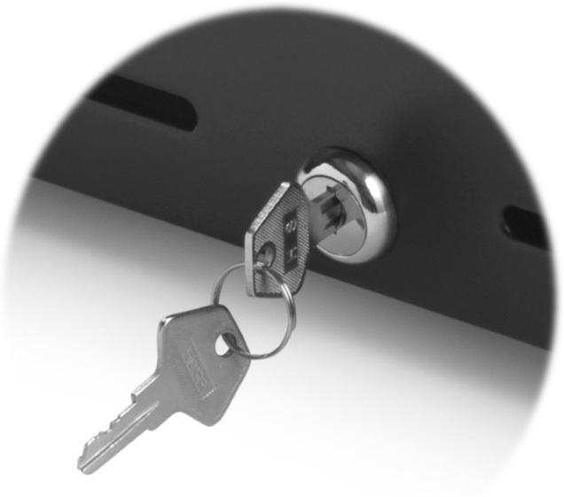 Kassalade reserve slot met sleutels - Smolkas Horeca en Retail kassa