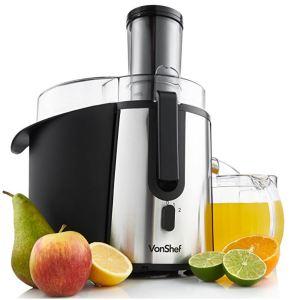 VonShef Whole Fruit Juice Extractor Centrifugal Juicer Machine