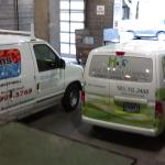 hvac van and cleaning