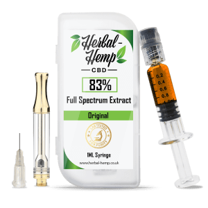 Herbal Hemp - High Strength CBD Extract 83%