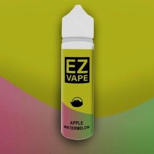EZ Vape - 50ml - Apple Watermelon - 3 for £10 - Smooth vapourz
