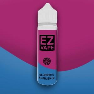 EZ Vape - 50ml - blueberry Bubblegum - 3 for £10 - Smooth vapourz