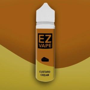 EZ Vape - 50ml - Custard Cream - 3 for £10 - Smooth vapourz