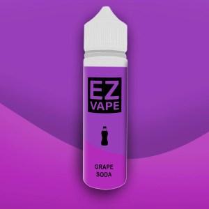 EZ Vape - 50ml - Grape Soda - 3 for £10 - Smooth vapourz