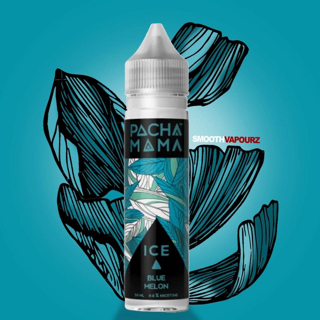 Pacha Mama Ice e-liquid Blue Melon - smooth vapourz