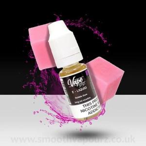 Vape 5050 - Bubblegum - 10ml e-liquid - Smooth Vapourz