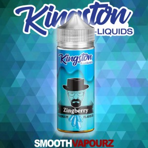 kingston zingberry 100ml eliquid smooth vapourz vape juice