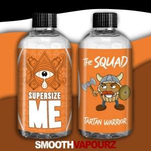 the squad supersize me smooth vapourz tartan warrior