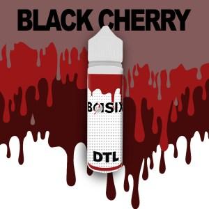 QCIG Basix DTL - Black Cherry 50ml E-liquid - Smooth Vapourz Vape Juice