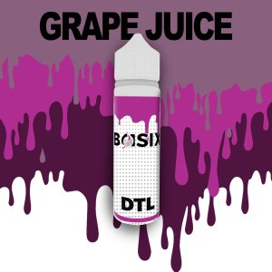 QCIG Basix DTL - Grape Juice 50ml E-liquid - Smooth Vapourz Vape Juice