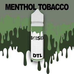 QCIG Basix DTL - Menthol Tobacco 50ml E-liquid - Smooth Vapourz Vape Juice