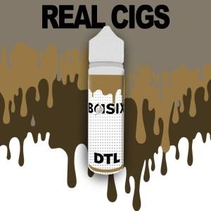 QCIG Basix DTL - Real Cigs 50ml E-liquid - Smooth Vapourz Vape Juice