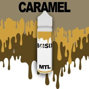 QCIG Basix MTL - Caramel 50ml E-liquid - Smooth Vapourz Vape Juice