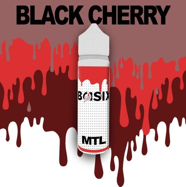 QCIG Basix MTL - Black Cherry 50ml E-liquid - Smooth Vapourz Vape Juice