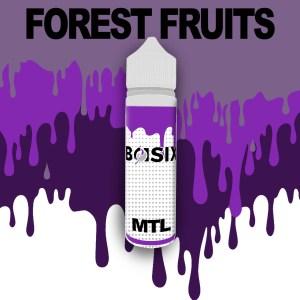 QCIG Basix MTL - Forest Fruits 50ml E-liquid - Smooth Vapourz Vape Juice