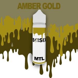 QCIG Basix MTL - Amber Gold 50ml E-liquid - Smooth Vapourz Vape Juice