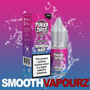 Pukka Juice - Rainbow Blaze - nic salt - Smooth Vapourz