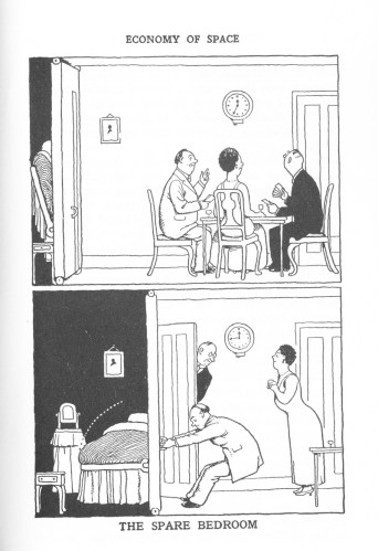 How to live in Flat W Heath Robinson and K R G Browne Dibedroom ...