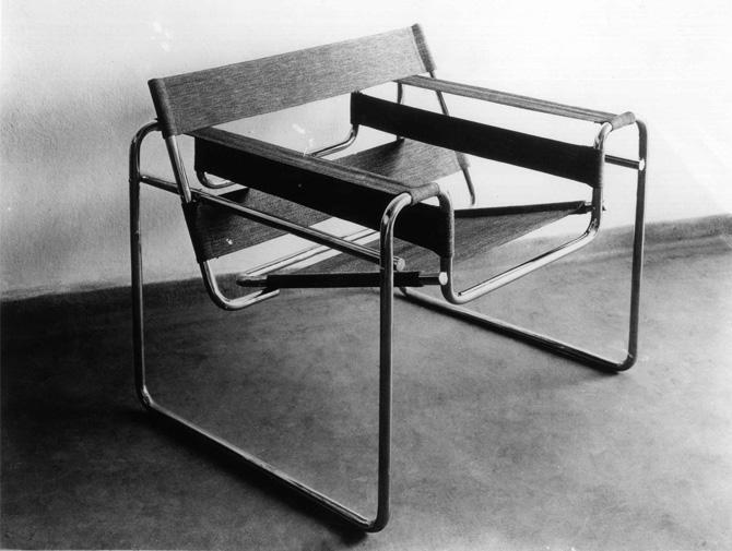 Knoll International Wassily Chair by Marcel Breuer, 1925 ...