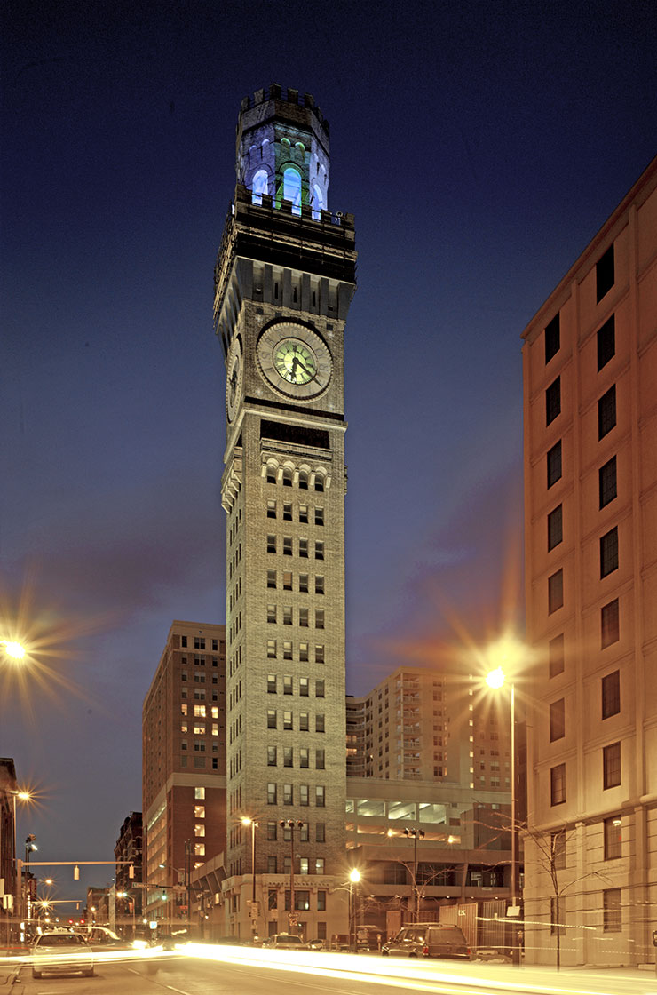 Bromo Seltzer Tower Historic Restoration Sm P Architects