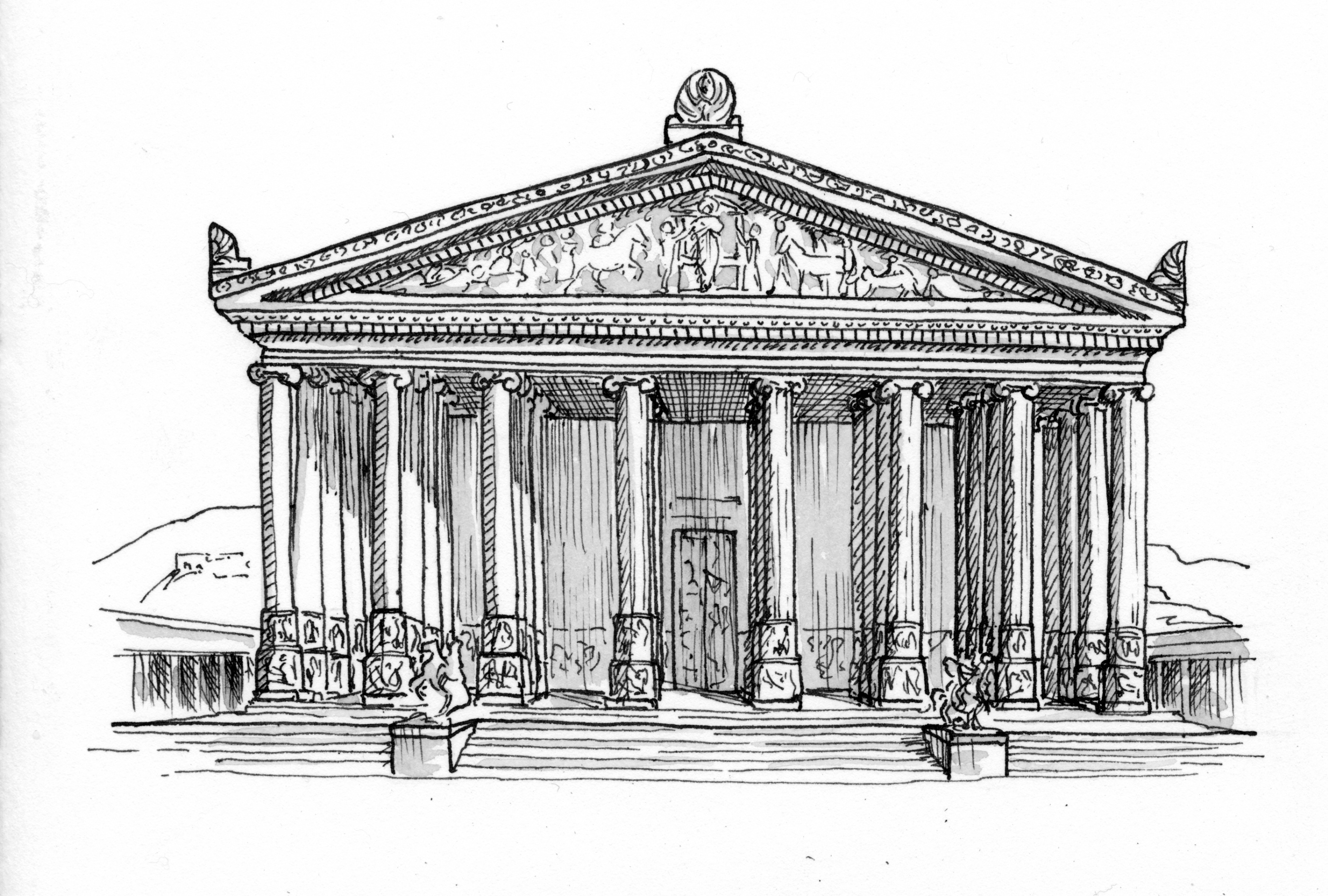 Acts 19 23 40 Illustration