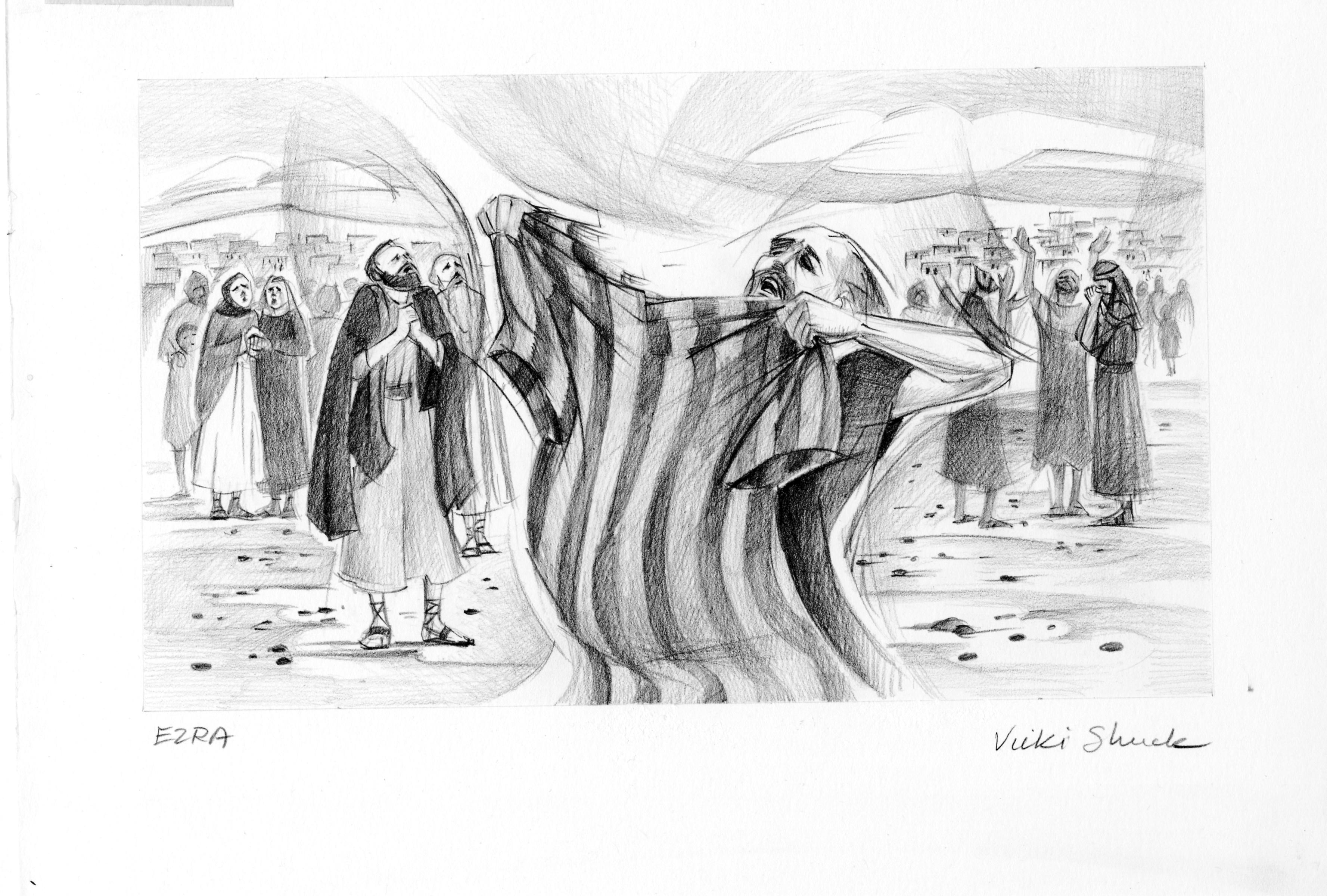 Ezra 9 3 Illustration
