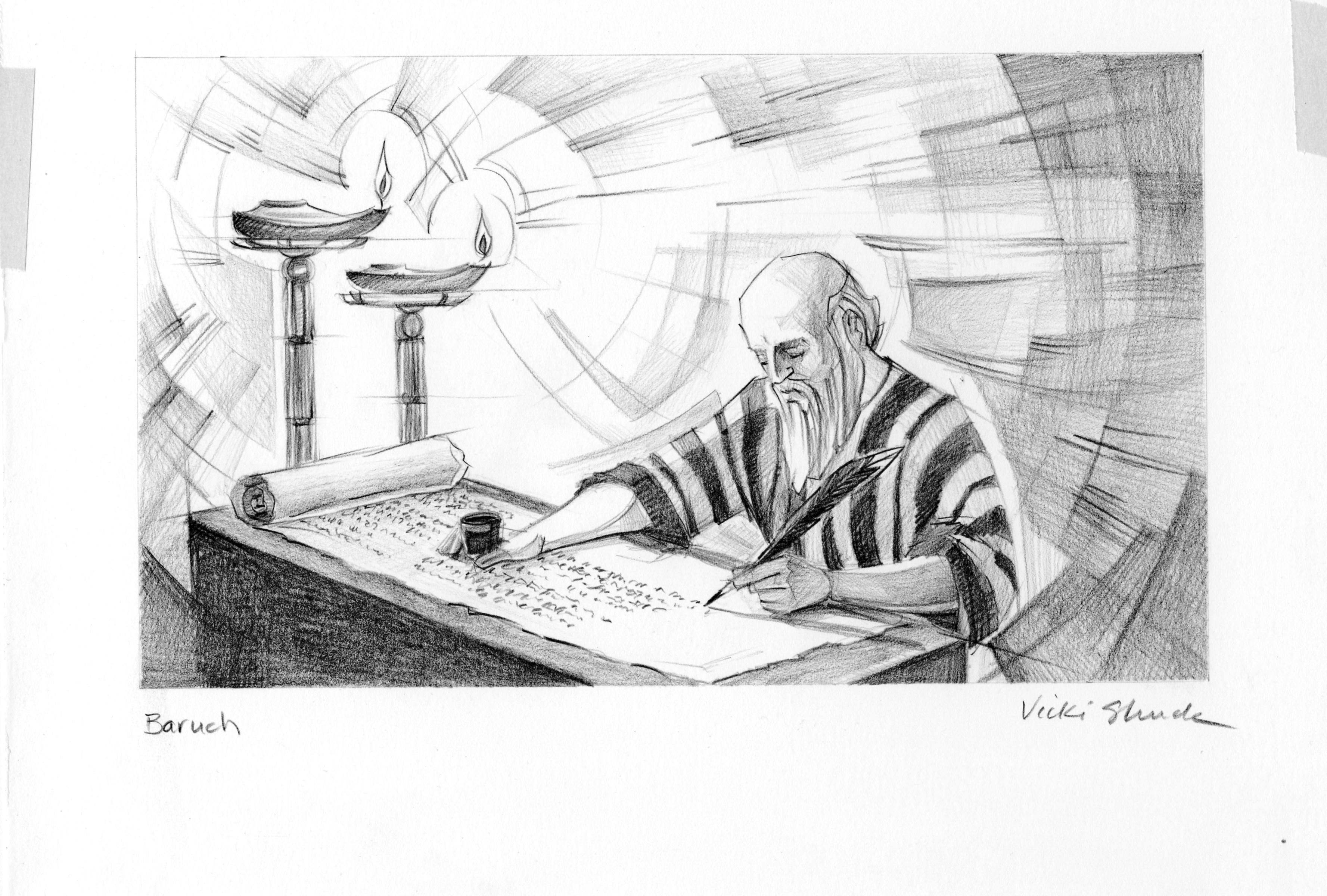1 Baruch Illustration