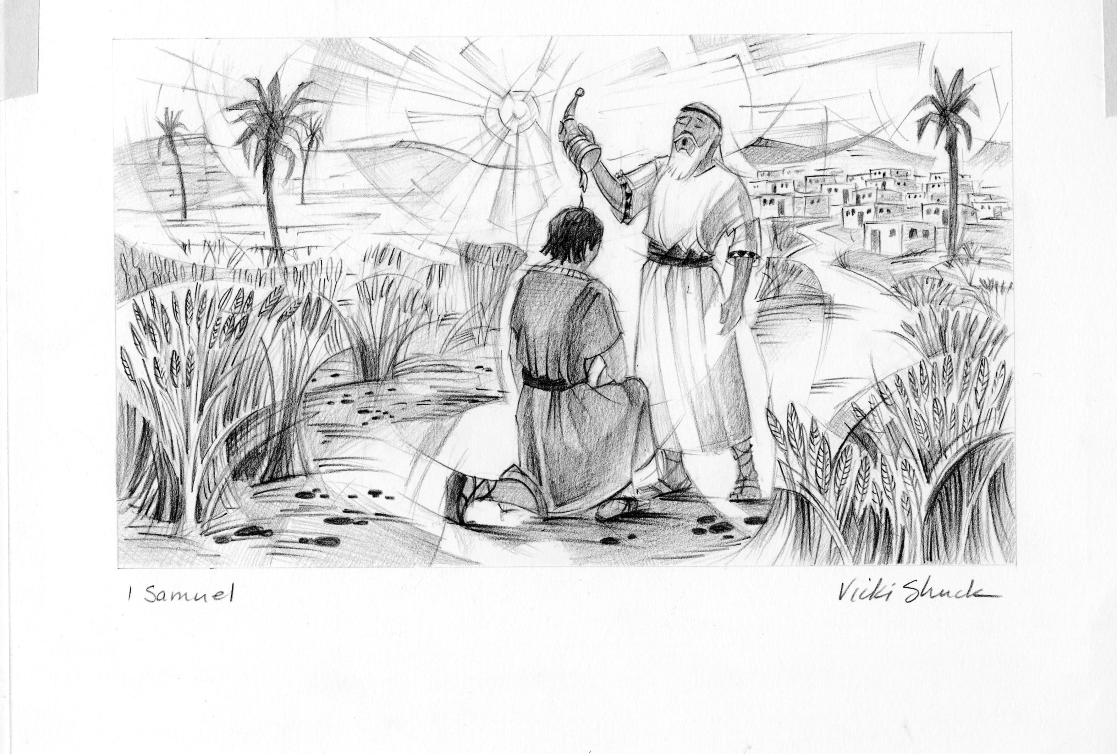 1 Samuel 16 13 Illustration