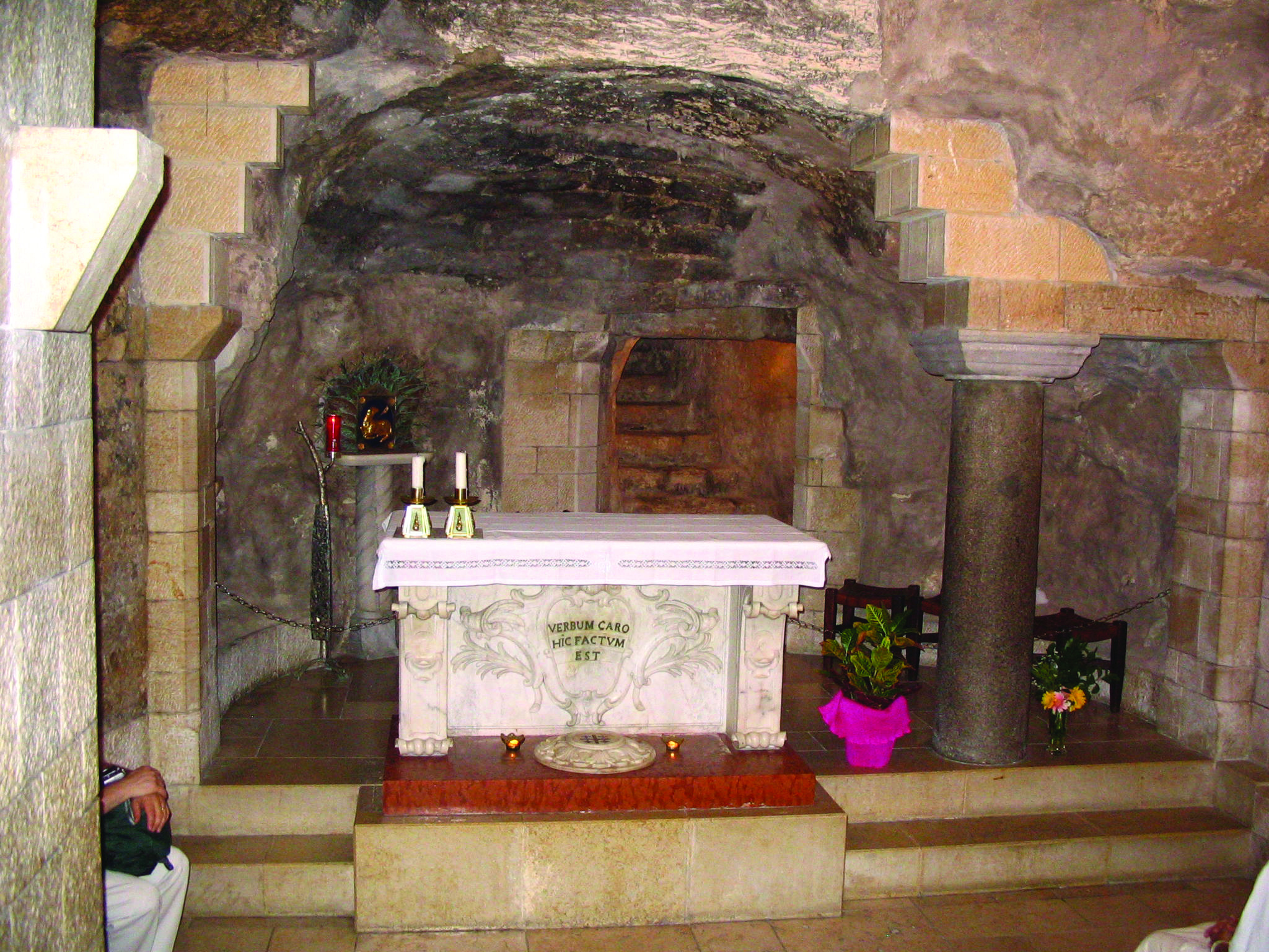 Cave Chapel Of Mary S Birthplace