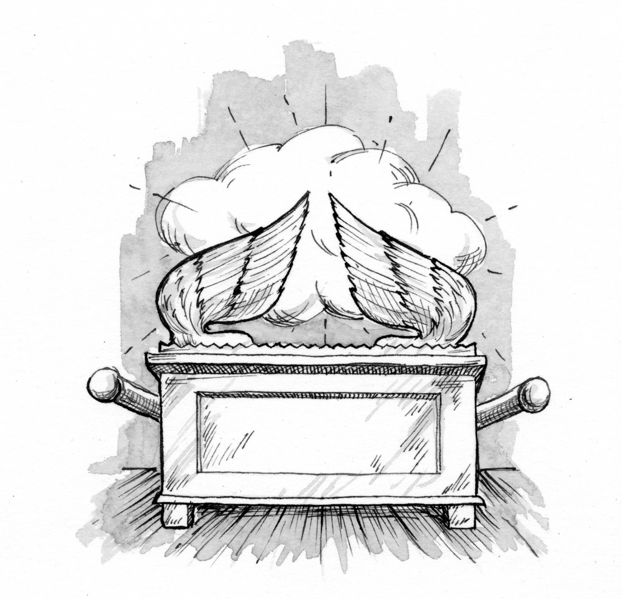 Exodus 371 9 Illustration The Ark Of The Covenant