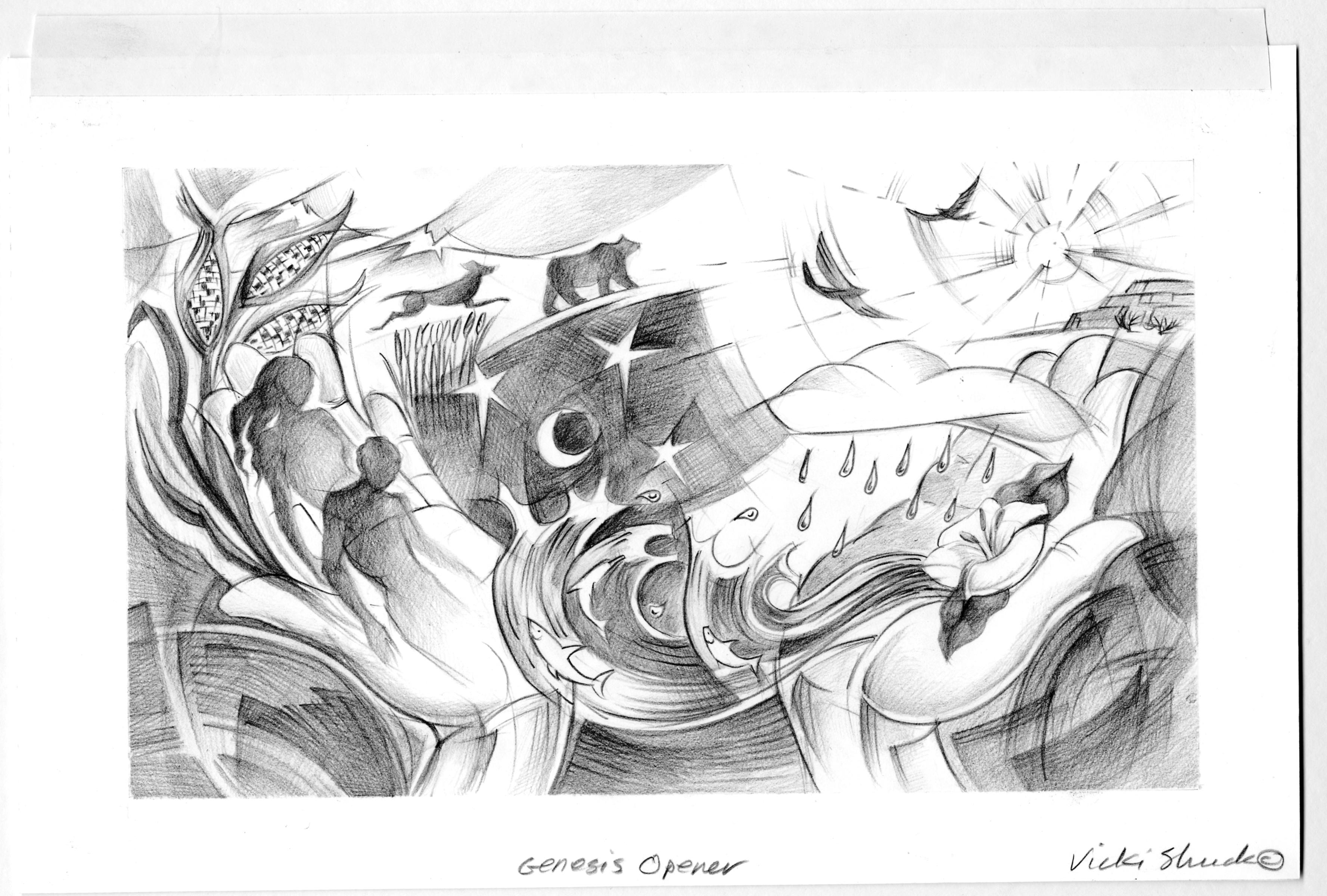 Genesis 2 4 23 Illustration
