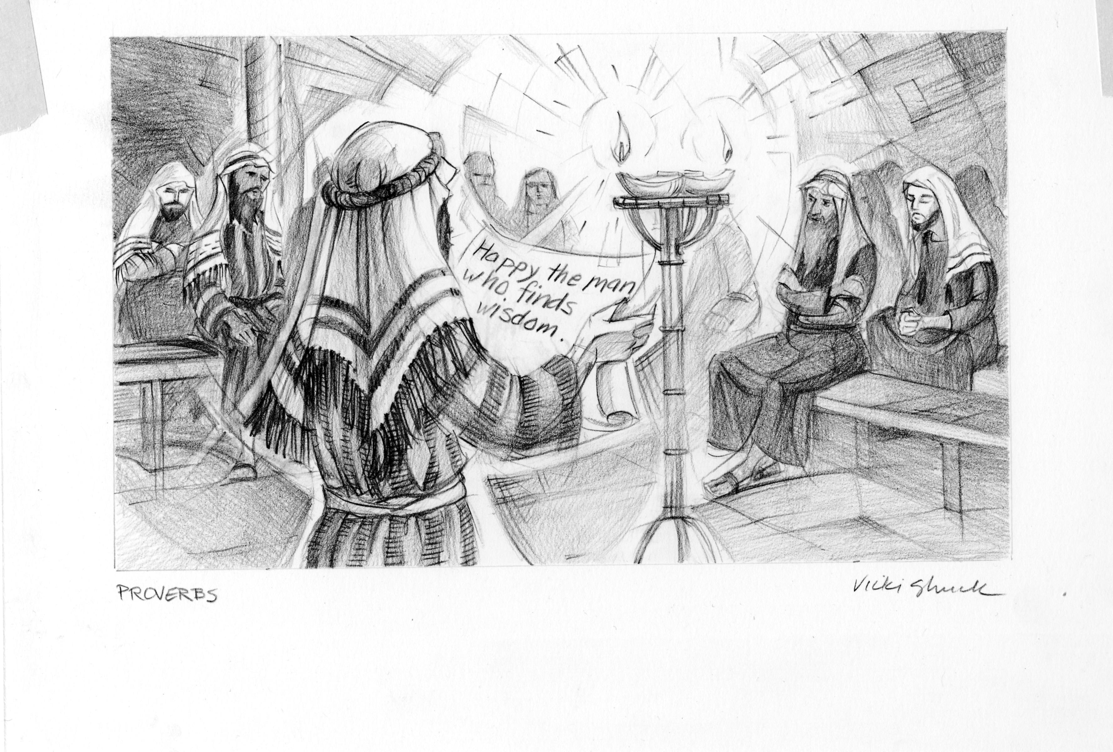 Proverbs 13 13 Illustration