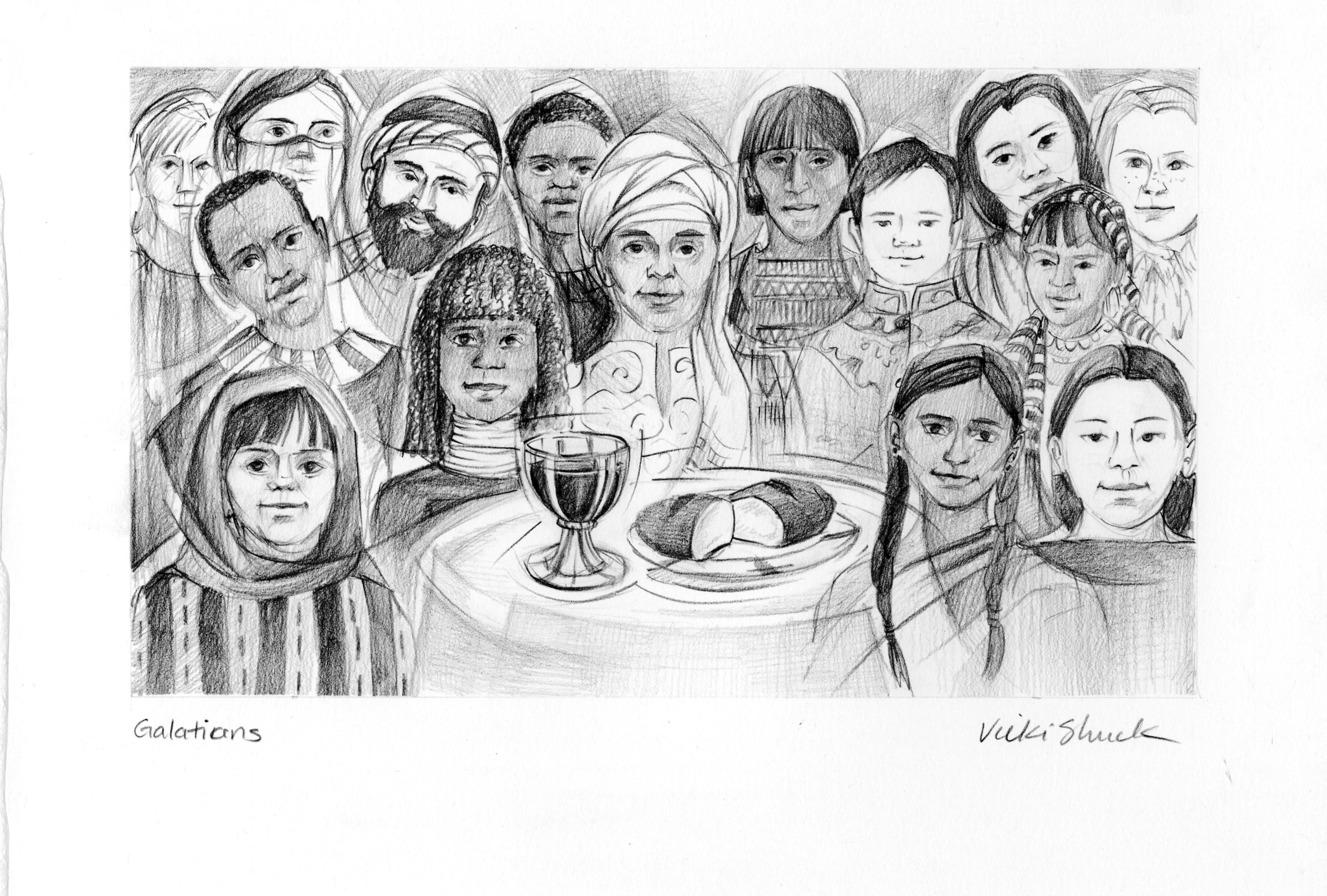 Galations 3 28 Illustration