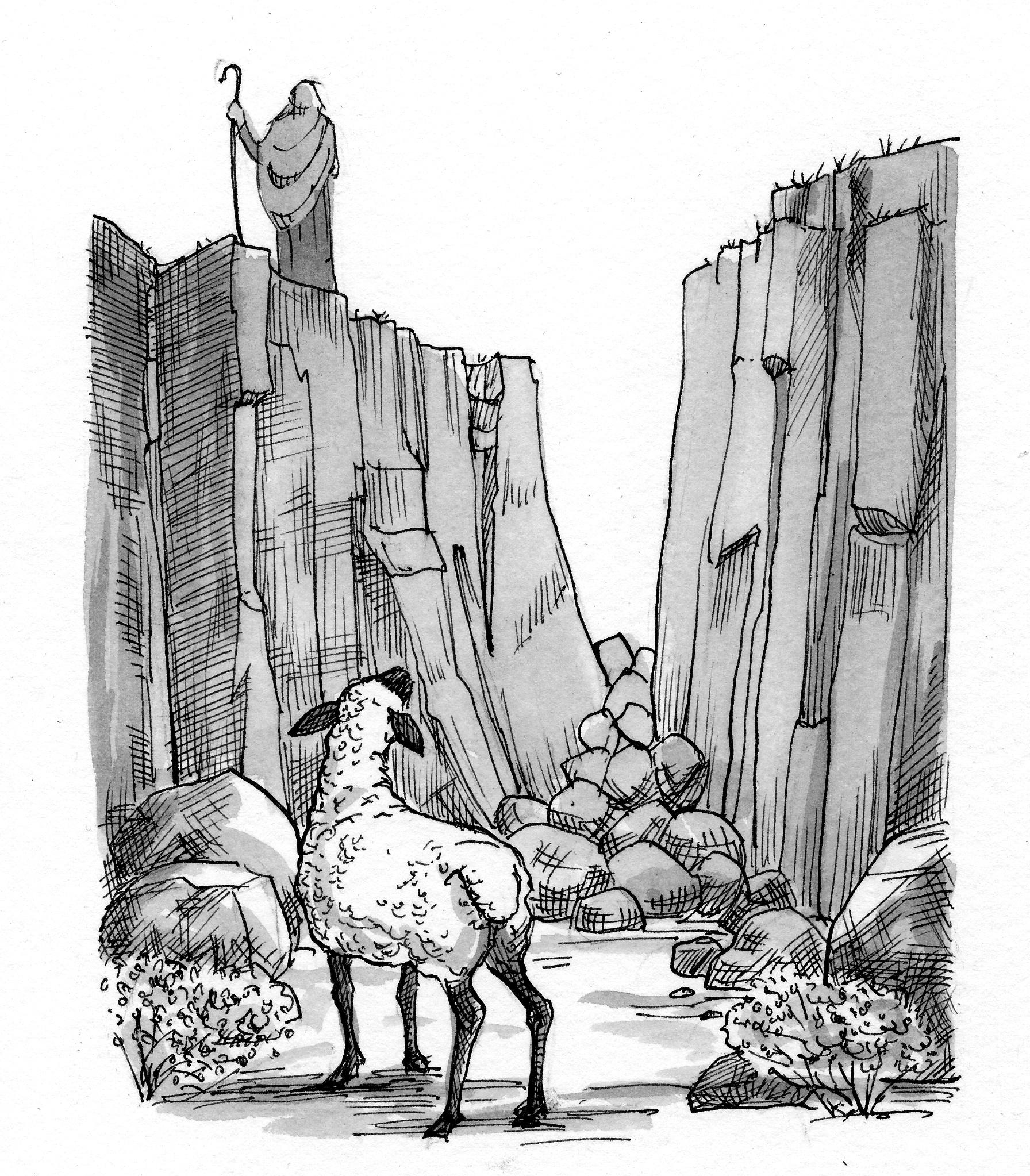 Luke 15 1 7 Illustration
