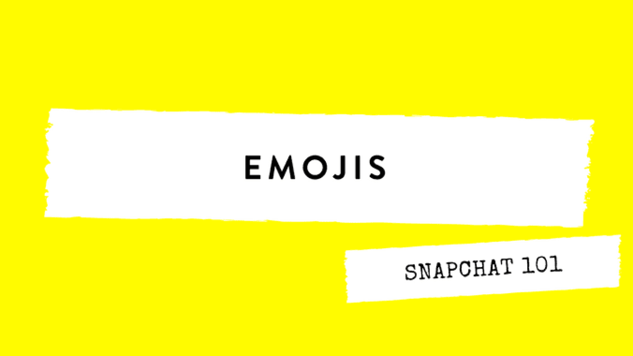 Snapchat Emojis: Your Guide To What They Actually Mean | SM Perth