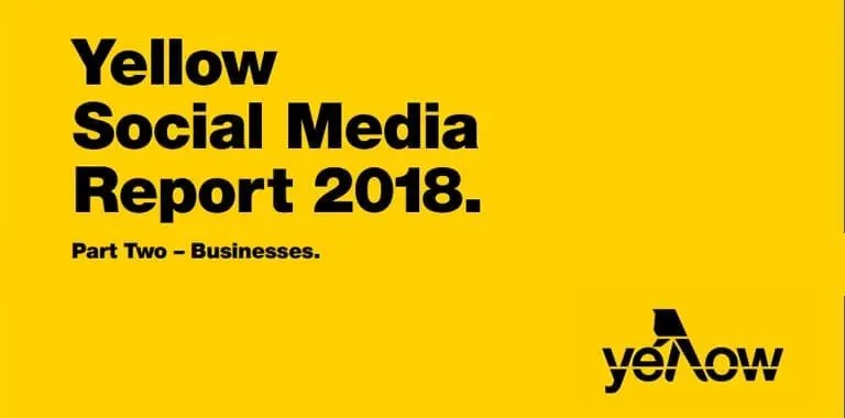 Yellow Social Media Report 2018 - Part Two