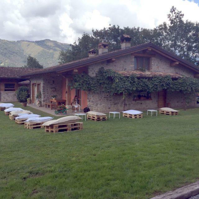 Villa in pietra locale