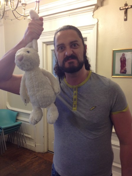 4. Carl with Bunny