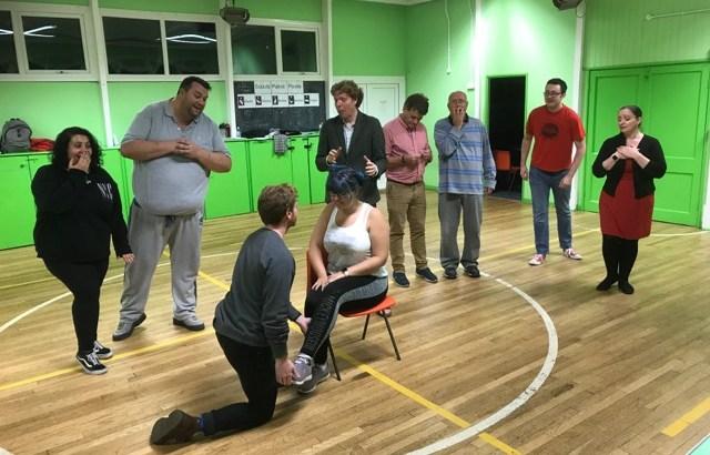SMP Theatre rehearsing Cinderella