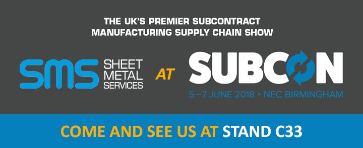 Visit Sheet Metal Services at Subcon 2018