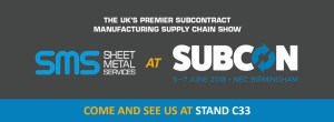 Sheet Metal Services at Subcon 2018