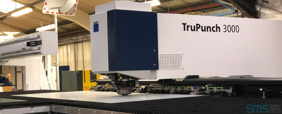 Our Trumpf TruPunch 3000 has arrived! | Sheet Metal Services