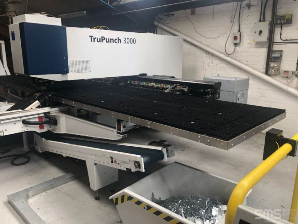 Trumpf Trupunch 3000 at Sheet Metal Services Seaforth, Liverpool