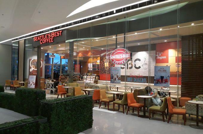 Seattle's Best Coffee, SM Seaside City Cebu, Philippines!