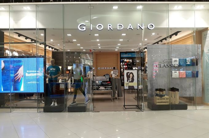 Giordano at Lower Ground, SM Seaside, City, Cebu, Philippines!