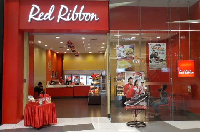 Red Ribbon, SM Seaside City Cebu, Philippines!