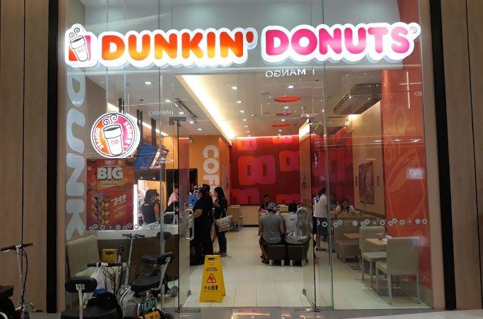 Dunkin Donuts SM Seaside City, Cebu, Philippines!