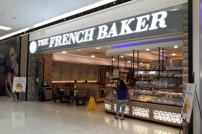 The French Baker, SM Seaside City Cebu, Philippines!